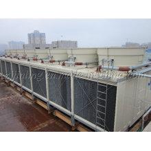 Torre de enfriamiento rectangular certificada CTI de flujo cruzado JNT-640 (S) / M
