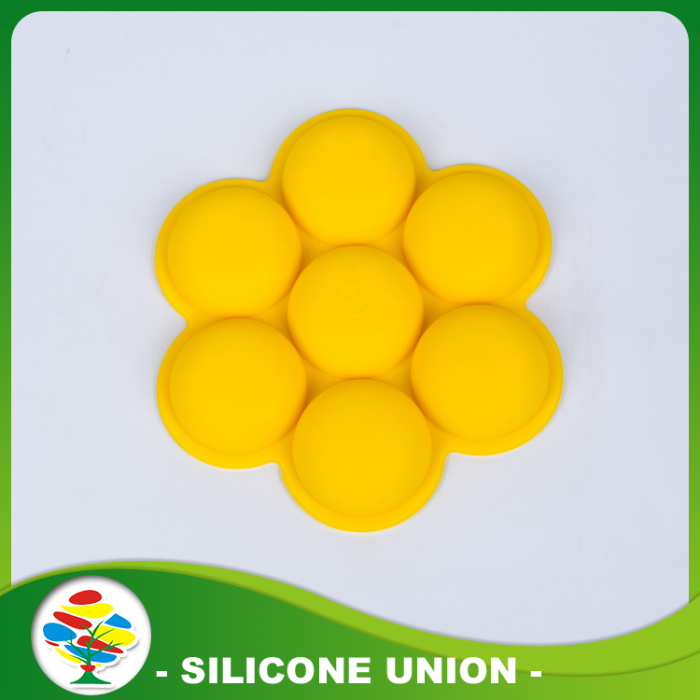 Yellow Shape Silicon Mold