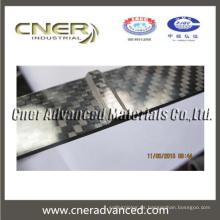 2 mm 3 mm de espesor adhesivo de fibra de carbono hoja / placa de alta resistencia de la placa de carbono alto módulo de carbono