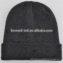 Sombrero hecho punto de alta calidad del invierno de las mujeres del OEM