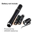 1W Geld-Erkenner-beste UVlicht-Taschenlampe 395NM-400NM Ultraviolett-Feder-Licht für Inspektion