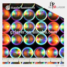 Lens Patten Hologramm Prägung Nickel Platte