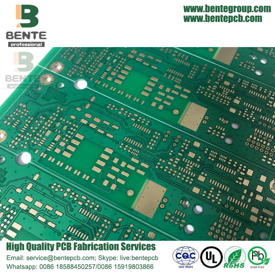 4 couches multicouche PCB FR4 Tg150 1oz