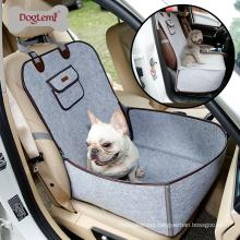 Doglemi Front or Back Protector Hammock for Dog Felt Pet Dog Car Seat Cover