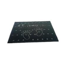 Professional Popular Sale mat Polyester velveteen mat