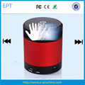 Red forma redonda Portable Hand Gesture Bluetooth Speaker (EB-06)