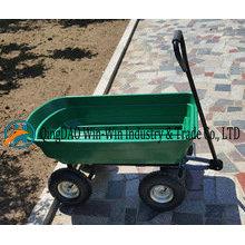 Chariot de jardin Tc 2145 avec roue en caoutchouc pneumatique 3.50-4