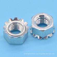 Carbon Steel Keps Sicherungsmutter (CZ108)