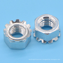 Mild Steel Keps Nut with Zinc Plated (CZ139)