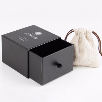 Black Paper Bracelet Gift Box for Jewelry