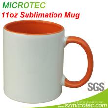Sublimation / Hitze Presse Seitenfarbe Becher (MT-B002H)