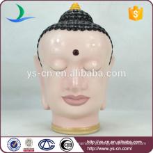 Atacado clássico busto de cerâmica de Avalokitesvara Home Decor
