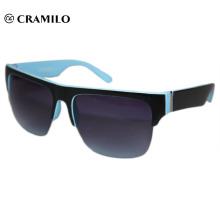 Óculos de sol de ponto azul de cor de quadro personalizado