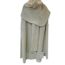 Casaco de casaco de caxemira de manga comprida de alta qualidade para mulheres, casaco de caxemira mongol