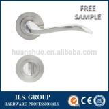 HOT sale aluminum handle rosette and cheapest price door lock HSAZ53-L02