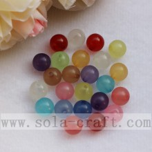 Popular Mixed Colors Acrylic Round luminous Beads