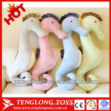 Hgh качество мягкой морской лошади тело животное плюш спальные подушки