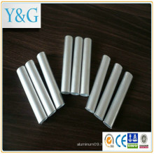 A2014A A2017 A2017A A2024 aluminium alloy anodized mill finished sand blasted tube / pipe