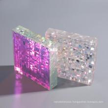 OLEG 3mm Thick Custom Size Decorative Patterned Chunky Glitter Marble Acrylic Sheet