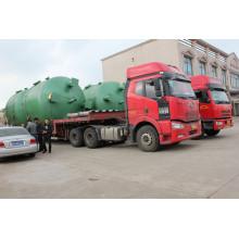 Réservoir d'eau en acier au carbone pour de nombreux types Traitement de l'eau
