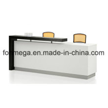 Modern White Office Furniture Reception Desk (FOH-FQ2D)