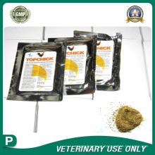 Medicamentos veterinários de pó granular políquico (24%)