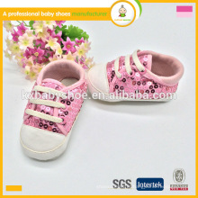 2016 moda quente moda lantejoulas padrão crianças recém nascidas esporte sapatos, sapatos esportivos para crianças