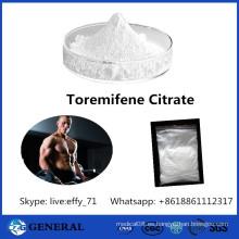 Antiestrógeno Receptor Modulador Toremifene Citrate Fareston CAS 89778-27-8
