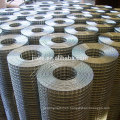 Electric galvanized welded wire mesh machine in roll