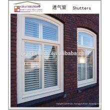 high quality wooden plantation shutter for window