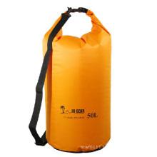50L Big Volume Nylon Waterproof Barrel Backpack Dry Bag (YKY7237)