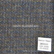 Abrigos de lana de hombres Abrigos de lana de lana de invierno Abrigo de lana Harris tweed