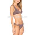 Usine directe en ligne en gros boucle soutien-gorge et shorts de maillot de bain brakini