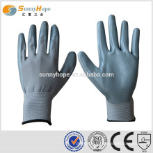 13gauge palm dipped nylon work gloves