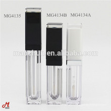 Transparent square lip gloss tube packaging supplier