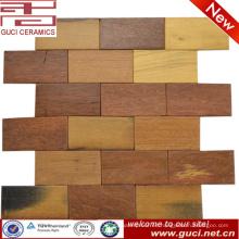 azulejo de la pared de la tienda del azulejo del piso de la mirada de madera sólida rústica