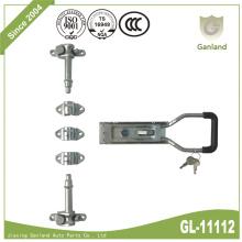 Porte de camion de communication mobile verrouillable avec clé de sécurité