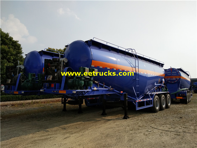 60cbm Bulk Powder Tank Trailers