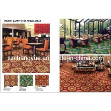 Broadloom Wilton Wool Hotel Tapetes