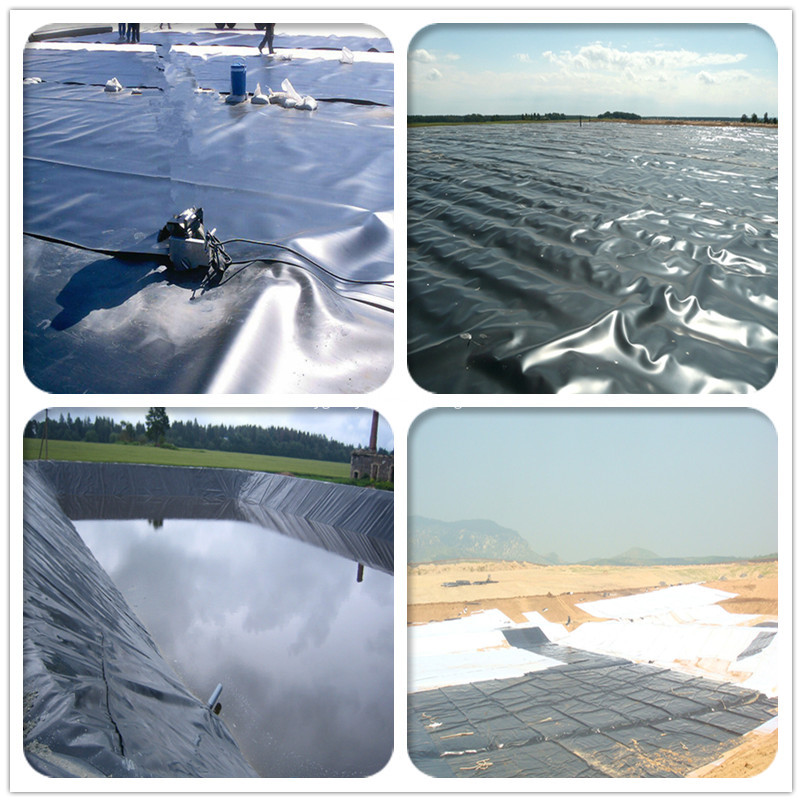 HDPE geomembrans in ASTM quality
