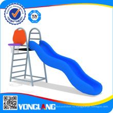 Крытый и открытый пластиковый слайд