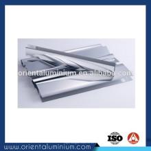 Extrusion en aluminium de polissage de haute qualité pour portes de douche