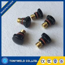 Antorchas de soldadura TIG piezas de repuesto tapa trasera corta 57Y04 Accesorios de soldadura TIG 57y04