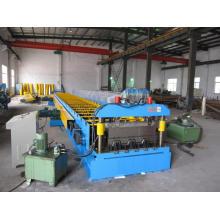 Cold Steel Structure Metal Deck Machine/ Floor Decking Machine (CUS-51-240-720)
