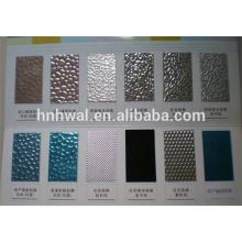 mirror aluminum Anticorrosion PE/PVDF prepainted color aluminum coil