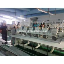 высокое качество 6 головок кап/т-дерьмо/плоская крышка вышивальная машина с высокой скоростью