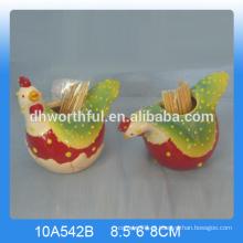 Suporte de toothpick de cerâmica de alta qualidade para cozinha