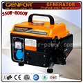 Air Cooled 650W Gasoline Generator Mini gasoline Generator for Home Use