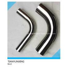 Ss304 polido seamless aço inoxidável Pipe Bend