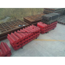 Jaw Crusher Plates From Wear Parts Foundry